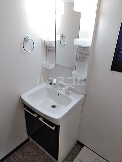 Residence Nakameguro 301号室の洗面所