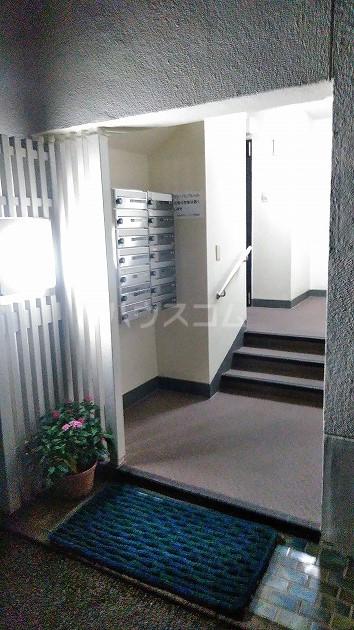 中銀世田谷マンション1号館 403号室のロビー