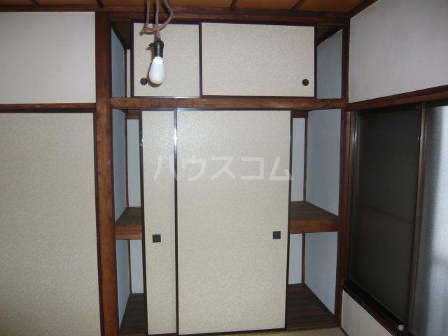 大和荘 本館 215号室の収納