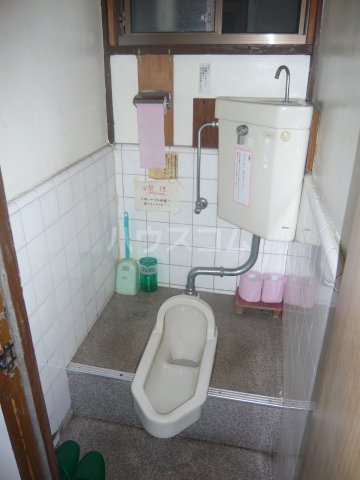大和荘 本館 215号室のトイレ