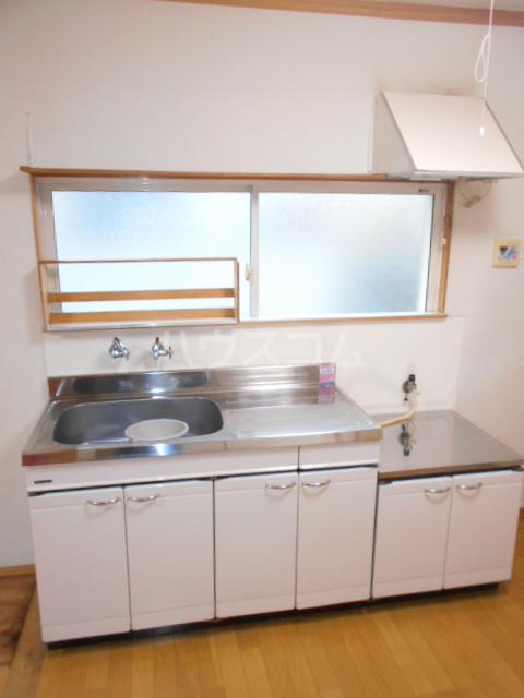 あじさいルーム 201号室のキッチン