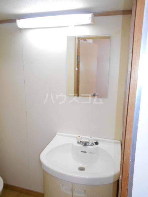 あじさいルーム 201号室の洗面所