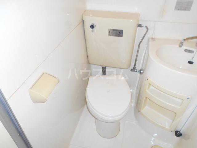 アートピア駒沢 204号室のトイレ