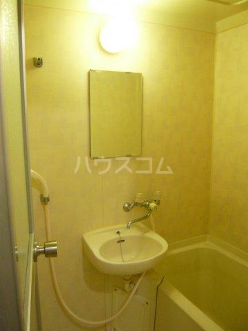 メゾン イサム 205号室の洗面所