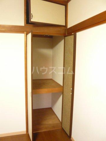 メゾン イサム 205号室の収納