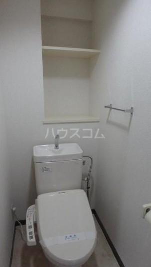 シンシア田園調布 502号室のトイレ