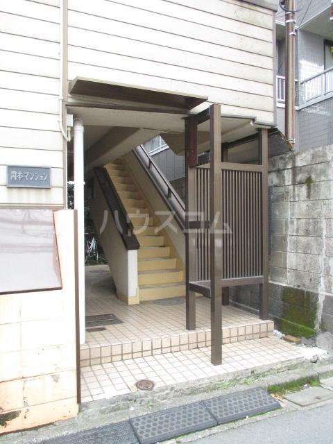 岡本マンション 303号室のエントランス