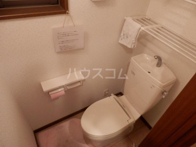 大森南住宅 3号室のトイレ
