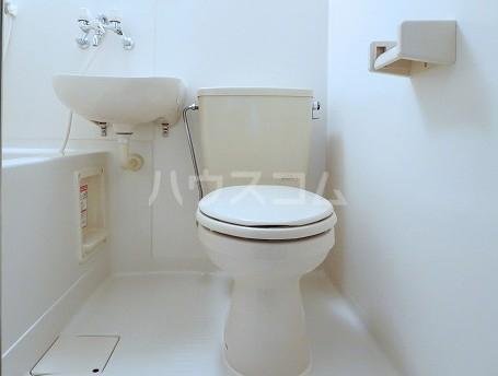 コペル田園 101号室のトイレ