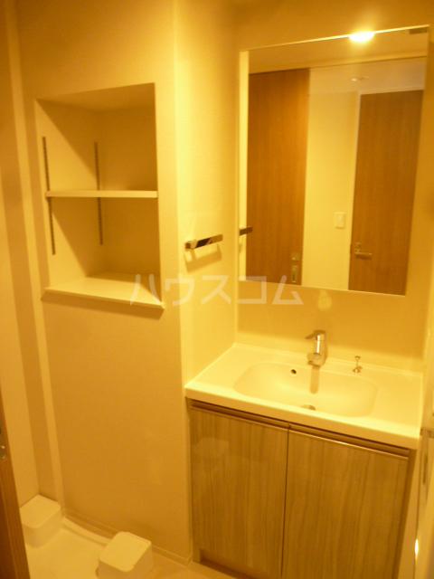ラクラス蒲田 701号室の洗面所