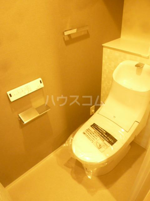 ラクラス蒲田 701号室のトイレ