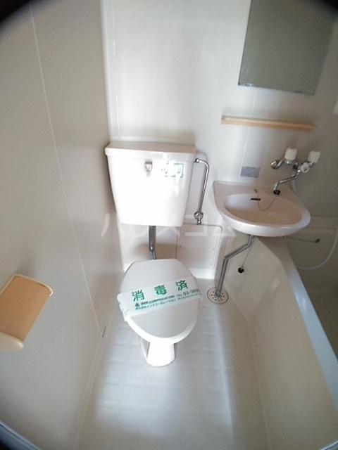 パークアベニュー 101号室のトイレ