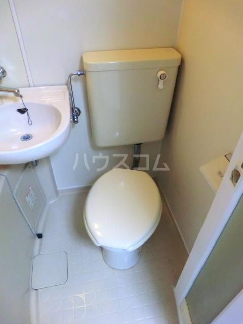 コーポちひろ 308号室のトイレ