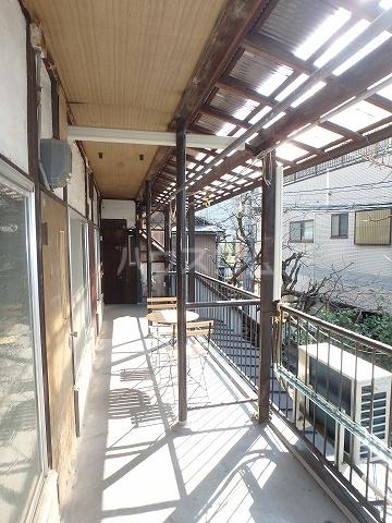 リモーネ町田 201号室のバルコニー