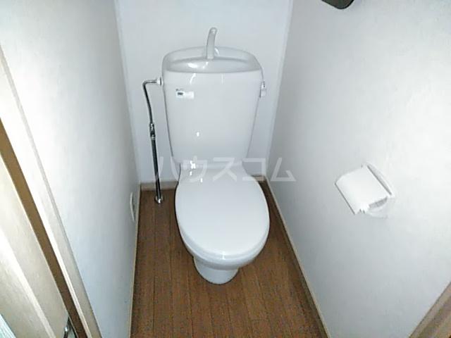 フェリシモK 1-A号室のトイレ