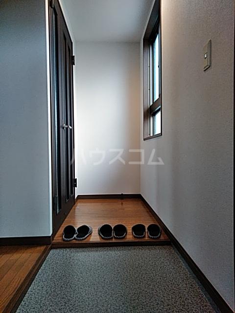 サンフォレスト 202号室の玄関
