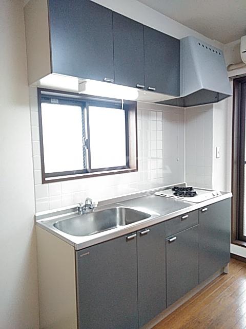 サンフォレスト 202号室のキッチン