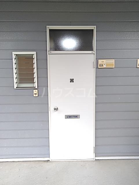 ハイツアミーゴ 109号室の玄関