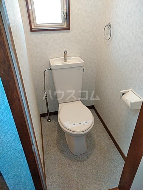 ハイツアミーゴ 109号室のトイレ