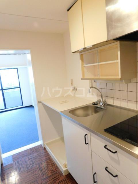 NOOK ヌック 1-B号室のキッチン