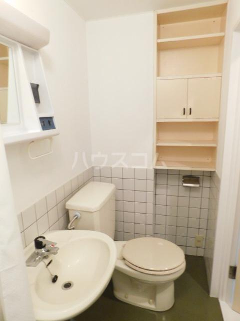 NOOK ヌック 1-B号室のトイレ