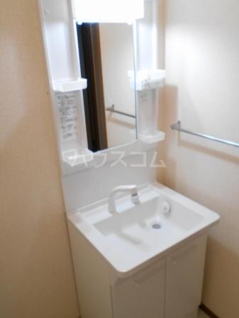グランドゥール泉台 101号室の洗面所
