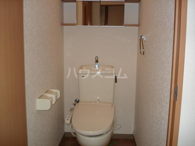 キャナルコート 201号室のトイレ