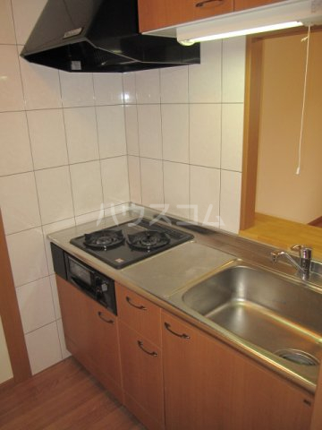 モーツァルト 201号室のキッチン