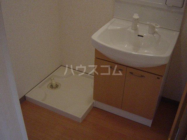 モーツァルト 201号室の洗面所