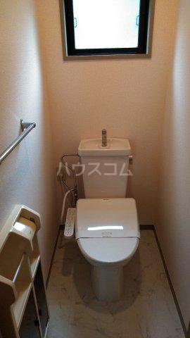 プリマベーラB 101号室のトイレ