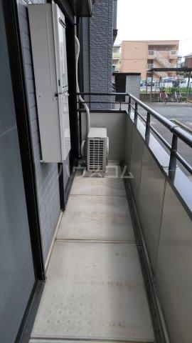 プリマベーラB 101号室のバルコニー