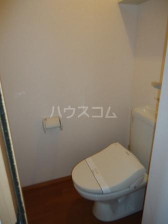 リビングタウン北上尾 B 101号室のトイレ