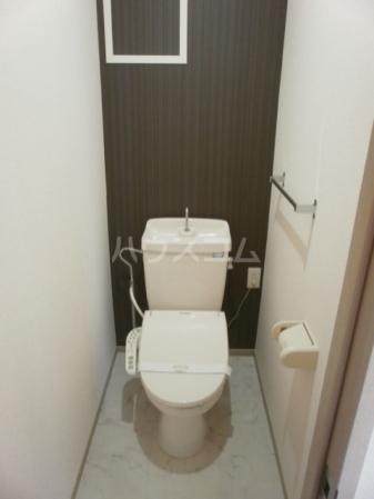 パークレジデンス 201号室のトイレ