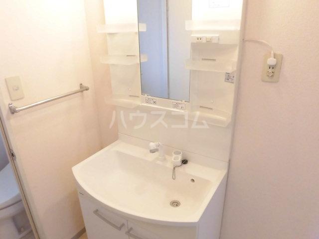 ネオハイムB 201号室の洗面所