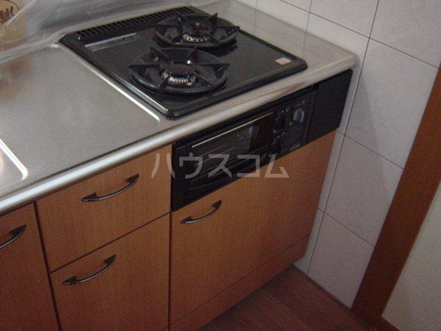 マロンコート 205号室のキッチン