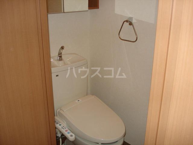 マロンコート 205号室のトイレ