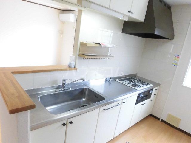 コスモセブン6号棟 102号室のキッチン