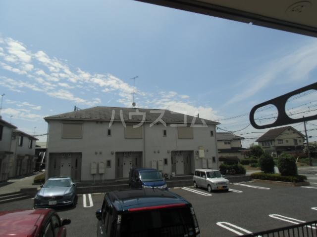 ビアンキ花崎A・B棟 A-103号室のバルコニー