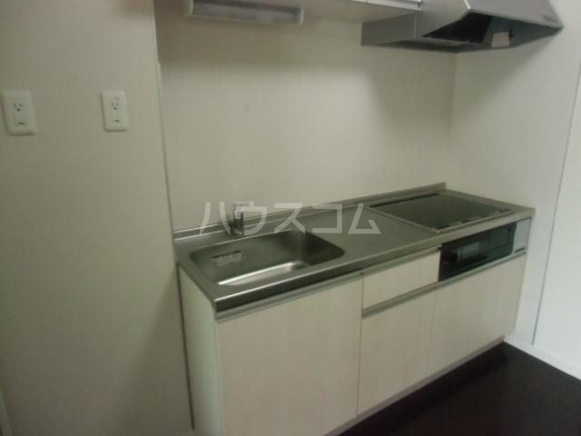 ビアンキ花崎A・B棟 A-103号室のキッチン