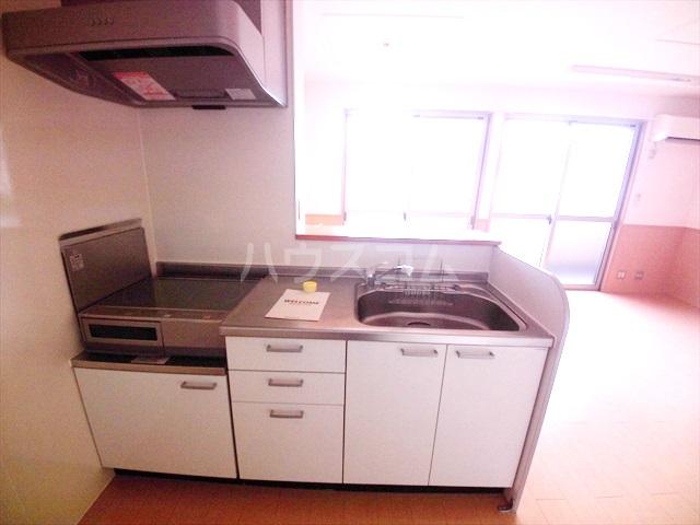 リビングゲートシティⅠ 308号室のキッチン