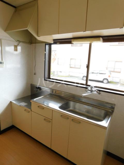 岡野マンション B-101号室のキッチン