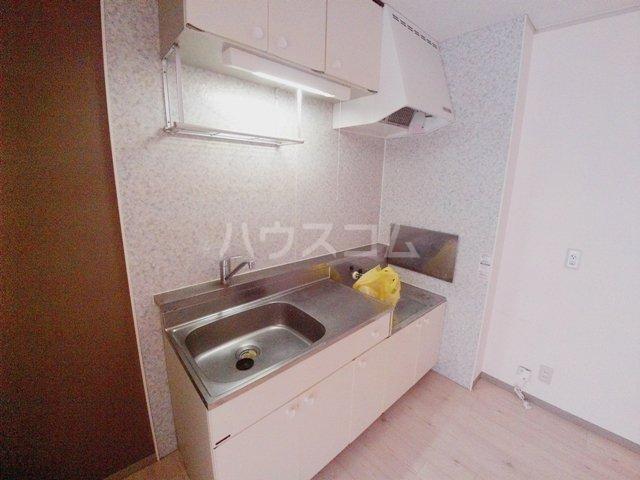 エクセルビュー泉台 B-101号室のキッチン