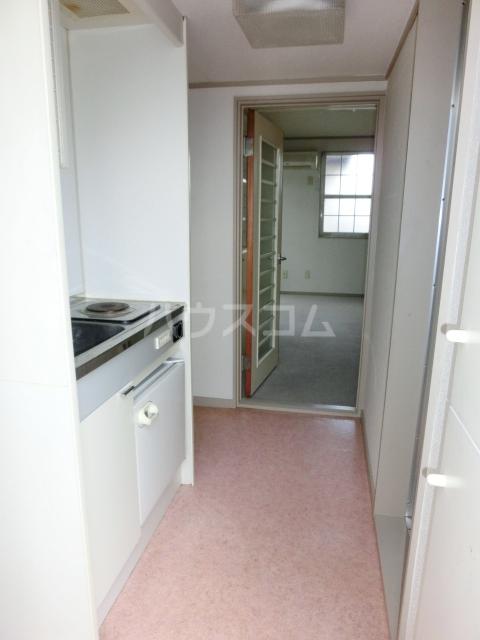 シティパレス上尾5 201号室のキッチン