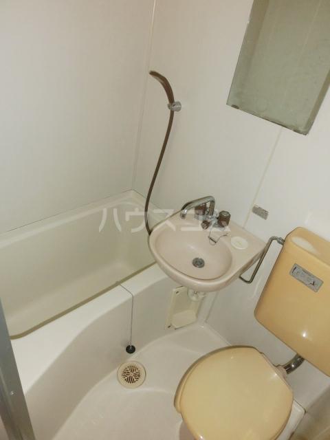 シティパレス上尾5 201号室のトイレ