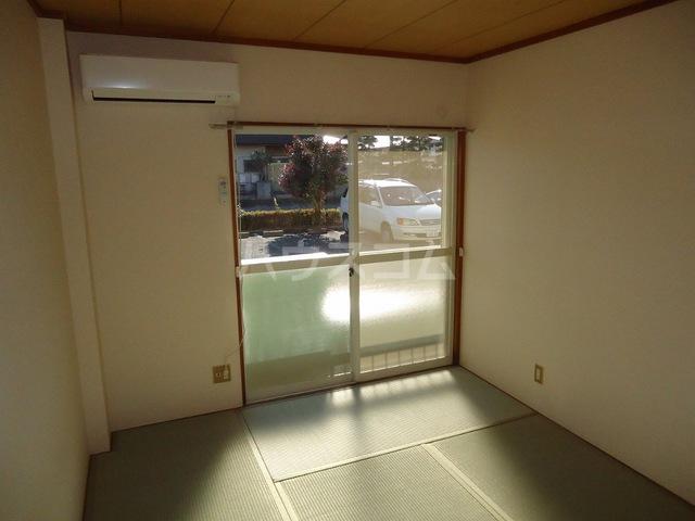 エコーハイツ 103号室のベッドルーム