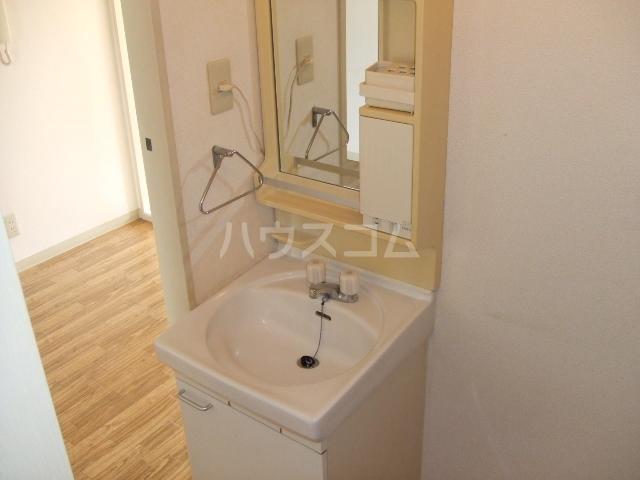ロイヤルコーポ幸 B 201号室の洗面所