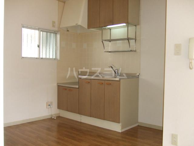 ロイヤルコーポ幸 B 201号室のキッチン