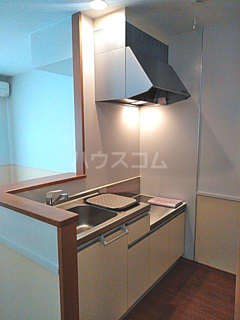 マイシティウエスト 205号室のキッチン