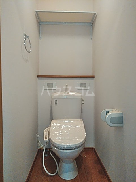 マイシティウエスト 205号室のトイレ