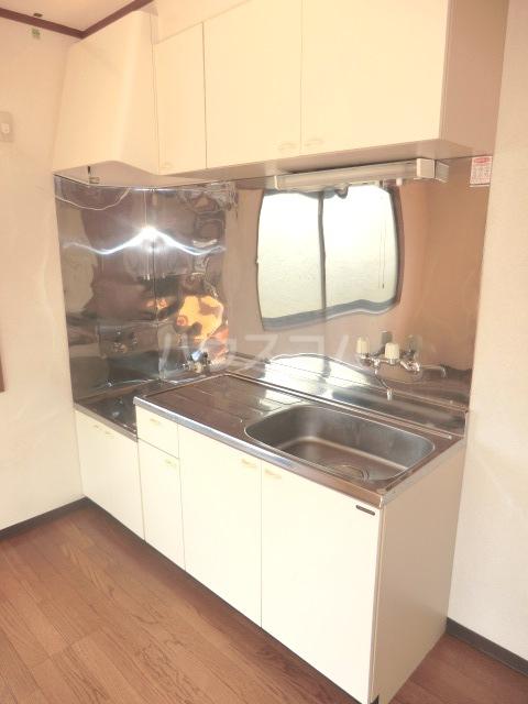 コーポ・シマC 202号室のキッチン